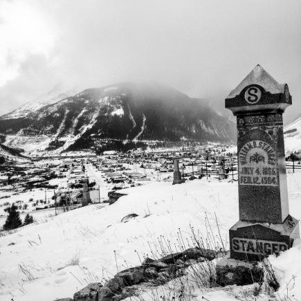 Hillside Cemetery, Silverton, Colorado.
