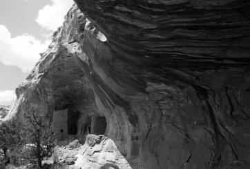 Cliff dwelling, San Juan County, Utah.