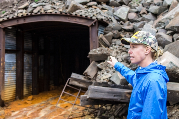 Kirstin Brown, of the Colorado Division of Reclamation, Mining and Safety, talks about the Koehler Mine.