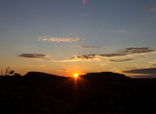 Sunrise, San Juan County, Utah.