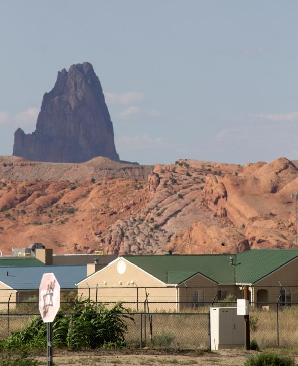 Agathla Peak and Kayenta