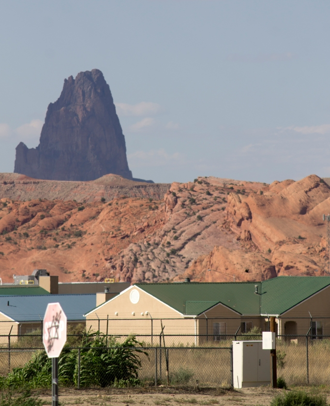Agathla Peak and Kayenta