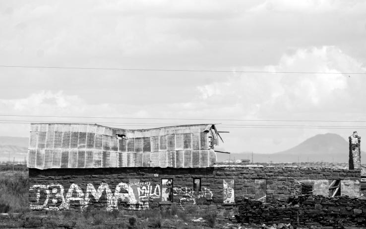 Building, Leupp, Arizona